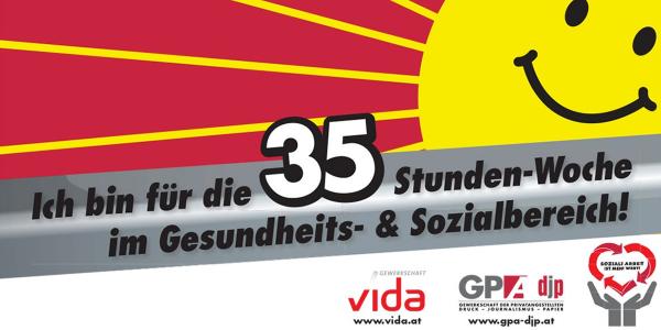 @GPAdjp Kampagne: 35 Stunden sind genug!