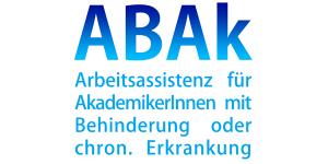 ABAk Arbeitsassistenz für AkademikerInnen mit Behinderung oder chronischer Erkrankung