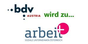 bdv Austria wird zu arbeit plus