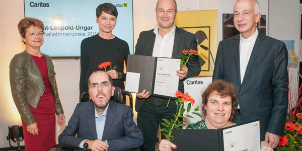 BIZEPS beim Prälat-Leopold-Ungar-JournalistInnenpreis 2017