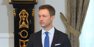 Bundesminister Gernot Blümel, Pressestatement Bundeskanzleramt, 21.02.2018