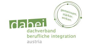 dabei dachverband berufliche integration austria Logo