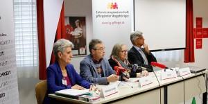 Pressekonferenz der Interessensgemeinschaft pflegender Angehöriger zum Thema Demenz