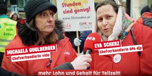 Demo am Stephansplatz
