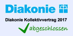 Diakonie KV 2017 abgeschlossen
