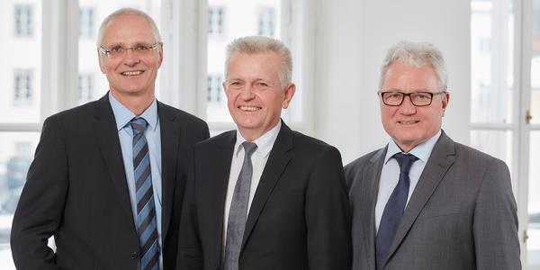 Neuer Dreier-Vorstand für das Diakoniewerk