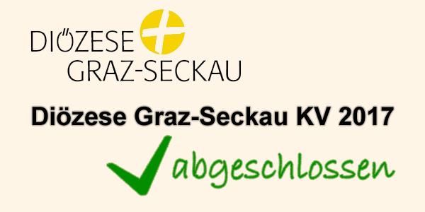 Diözese Graz-Seckau KV 2017 abgeschlossen
