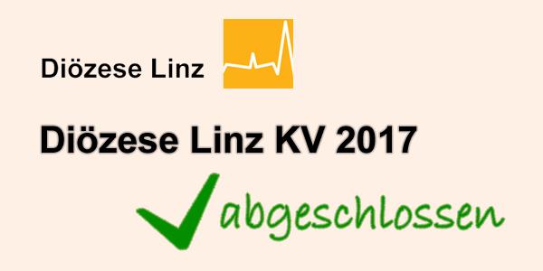 Diözese Linz KV 2017 abgeschlossen