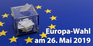 Wahlinfos für Menschen mit Behhinderung Europa-Wahl am 26.05.2019