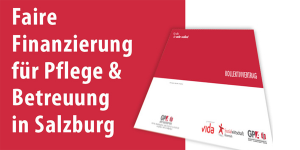 Faire Finanzierung für Pflege und Betreuung in Salzburg