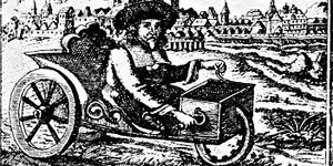 Stephan Farffler, Erfinder des 3rädrigen Rollstuhls