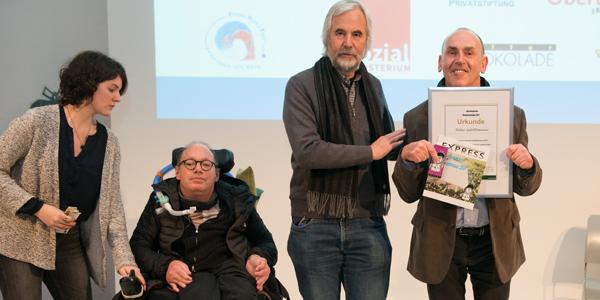 Preisverleihungsgala in Wien 2017 mit Petter Gstöttmaier