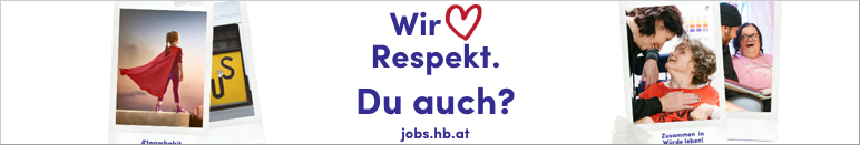 Wir lieben RESPEKT. Du auch? HABIT - Haus der Barmherzigkeit Integrationsteam GmbH - jobs.hb.at
