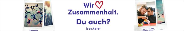 Wir lieben Zusammenhalt. Du auch? HABIT - Haus der Barmherzigkeit Integrationsteam GmbH - jobs.hb.at