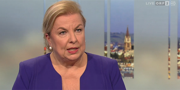 Sozialministerin Beate Hartinger-Klein