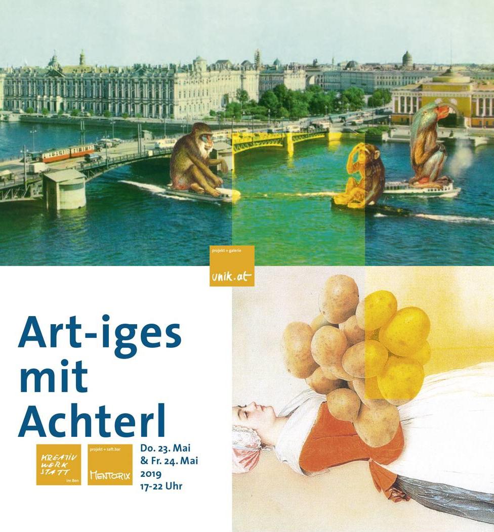Vernissage Art-iges mit Achterl