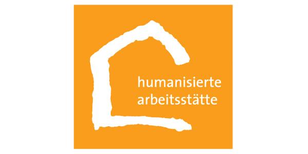 Humanisierte Arbeitsstätte Logo