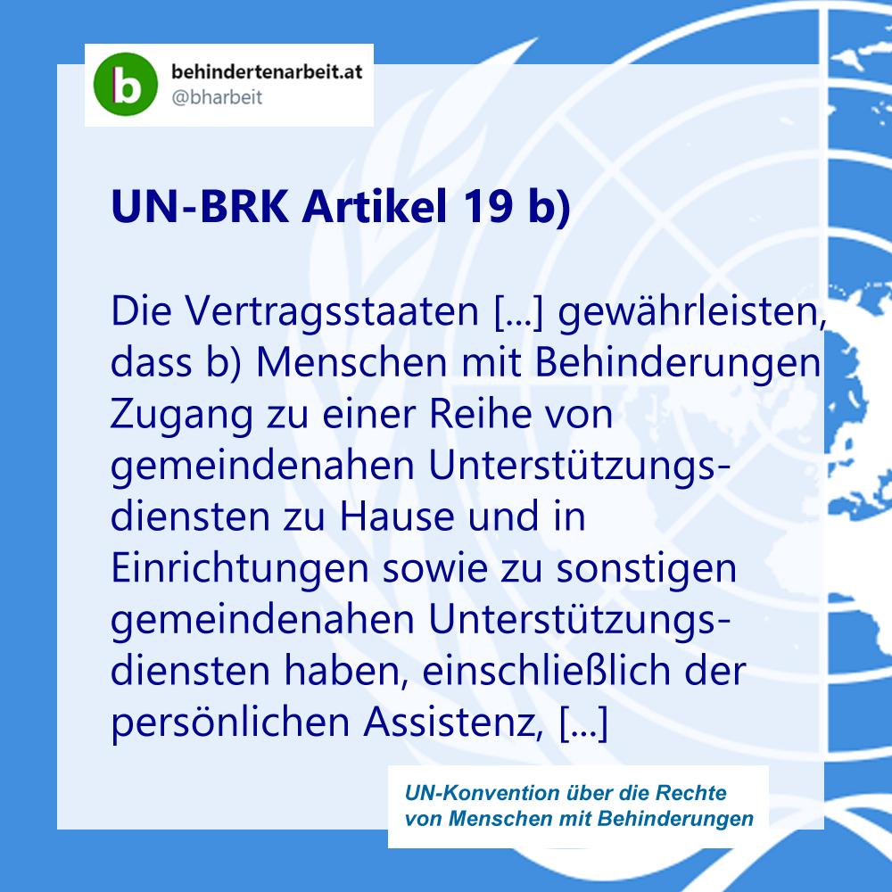 UN BRK Artikel 19b