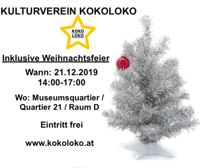 Weihnachtsparty mit Kokoloko-Kulturverein