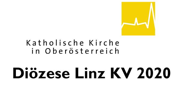 Kollektivvertrag Diözese Linz 2020