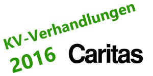 KV Verhandlungen 2016 Caritas