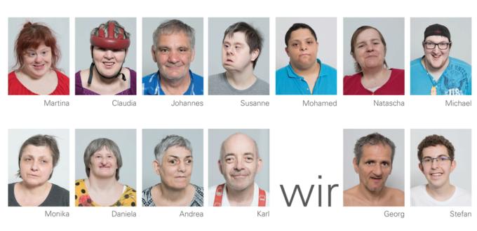 Portraits von KundInnen der Lebenshilfe Wien