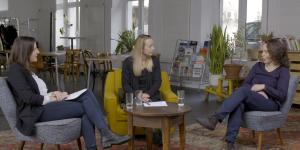 Zeitzeuginnen-Gespräch mit Christine Steger, Vorsitzende des Monitoringausschusses, und den beiden ehemaligen Vorsitzenden Marianne Schulze und Christina Wurzinger