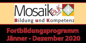 Mosaik BuK Fortbildungsprogramm 2020