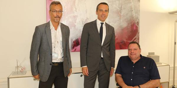 Klaus Widl, Christian Kern, Herbert Pichler
