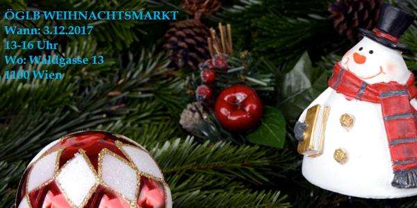 ÖGLB Weihnachtsmarkt 2017