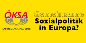 ÖKSA Jahreskonferenz 2018