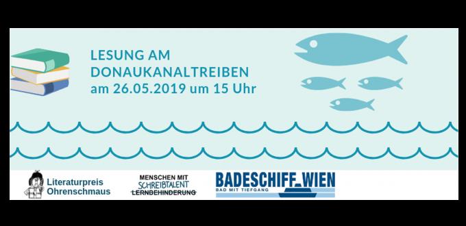 Ohrenschmaus-Lesung beim Donaukanaltreiben