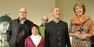 V.l.n.r.: Klaus Willner, Silvia Hochmüller, Herbert Schinko, Peter Gstöttmaier, Barbara Rett. Fotocredit: Ingrid Fankhauser