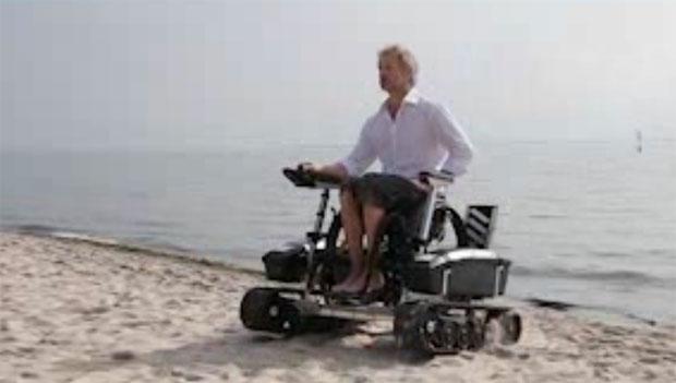 Rollstuhl für den Strand ScoutCrawler