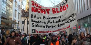 Foto vom Protestmarsch 24.01.2018