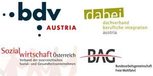 Soziale Dienstleister Österreichs Logos