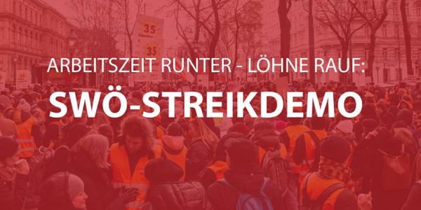 SWÖ-Streikdemo