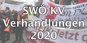 SWÖ KV Verhandlungen 2020