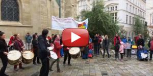 webvideo Demozug für die Forderungen von Menschen mit Lernschwierigkeiten