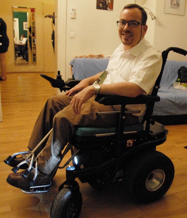 Rollstuhl von Georg Wessely